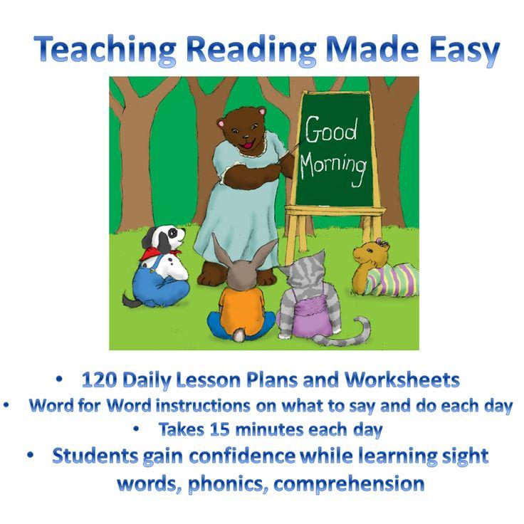 Teach Beginning Reading Lesson Plans Teacher 39 S Manual