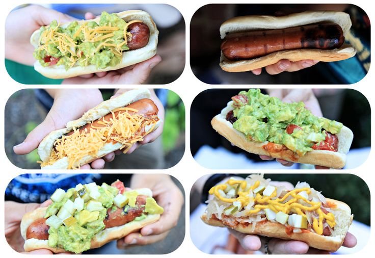 fancy hot dog party #4. Something you would take on a picnic.