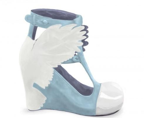 Blue Angel shoes