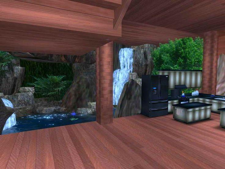 Interior waterfall design waterfalls - Waterfall designs for indoor ...