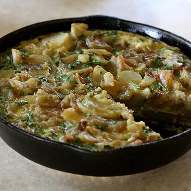 Potato Frittata | YUMMY | Pinterest