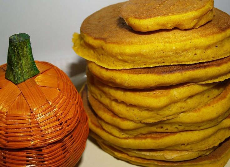pumpkin pie pancakes from mix | Food & Drink | Pinterest