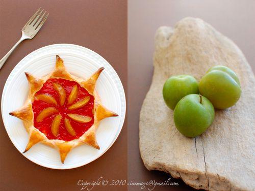 Plum jam and greengage tart | Tarts,Pies,Cobblers,Bars,Brownies | Pin ...