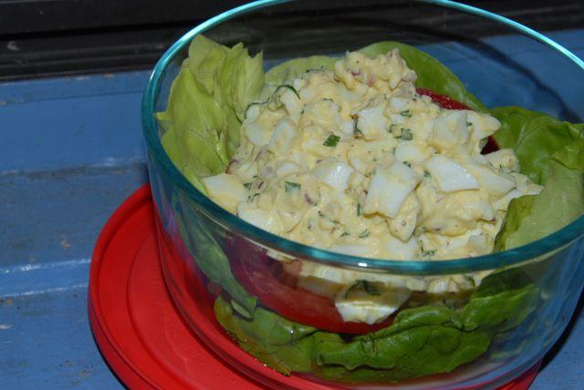Tarragon Egg Salad | Salads & Slaws | Pinterest