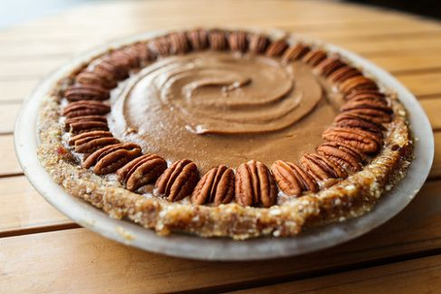 Raw Pecan Pie | Raw Food Eating | Pinterest
