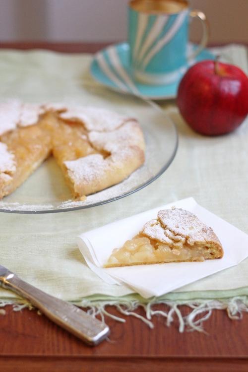 Rustic Apple and Custard Tarts