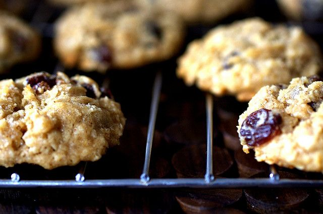 thick, chewy oatmeal raisin cookies | Baking & Sweets | Pinterest