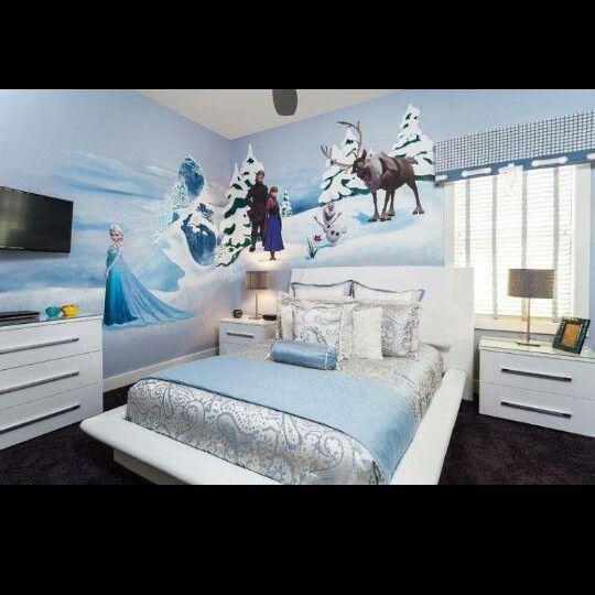 Frozen Bedroom Alayna Pinterest