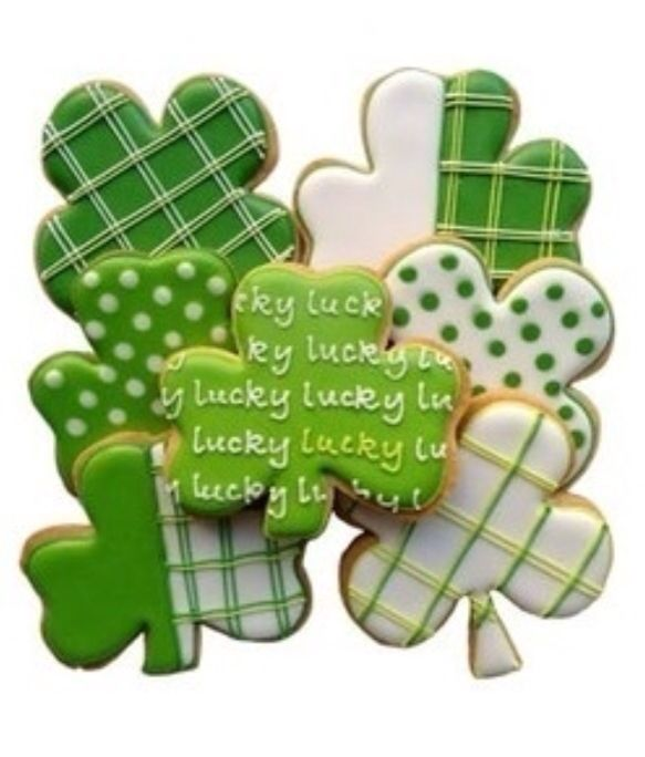 St. Patrick's day cookies pictures