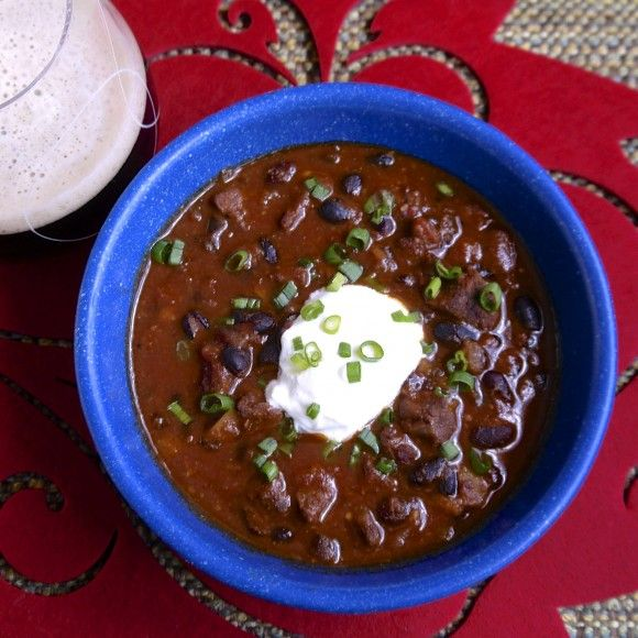 Beef and Black Bean Chili | Recipe