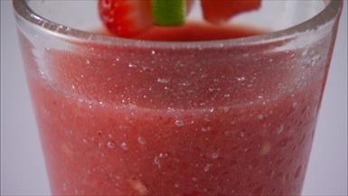 "Mexican Fiesta"" - Watermelon, Strawberry and Tequila Agua Fresca"