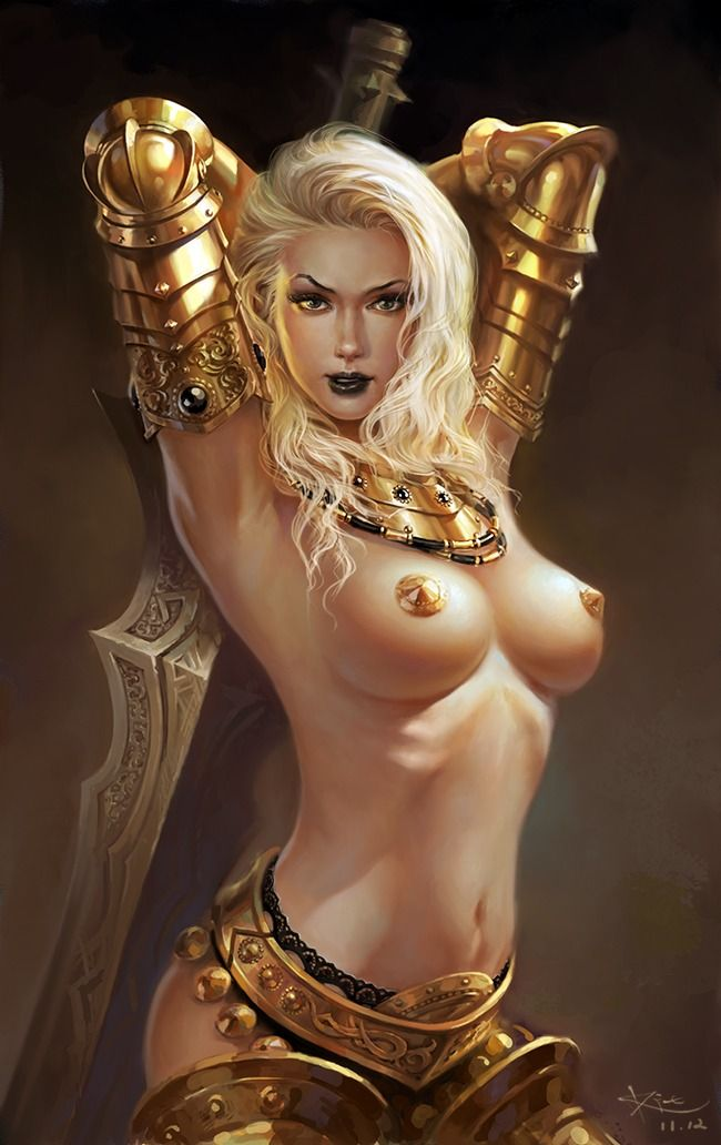 Adult artist fantasy