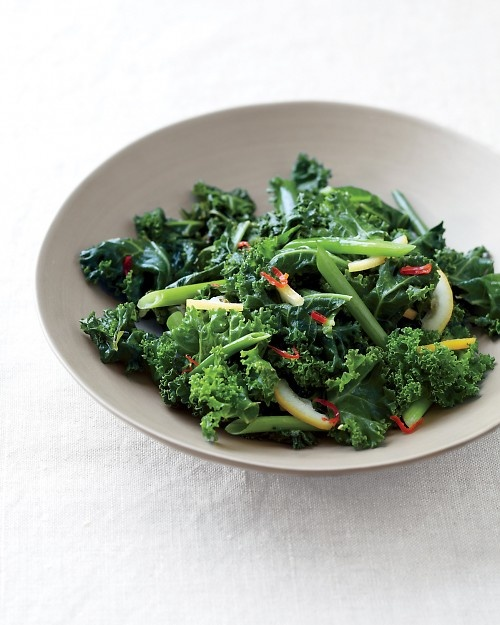 Spicy Sauteed Kale with Lemon - Martha Stewart Recipes