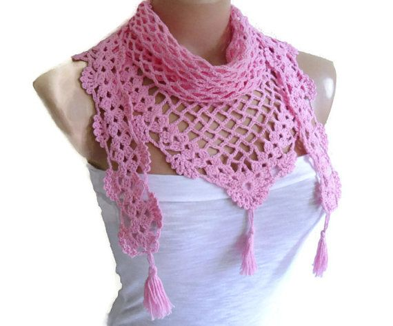 Crochet Lace Scarf Holiday Accessories fashion 2014 christmas gift  Fashion Scarves To Crochet