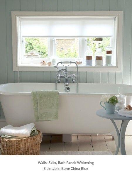 Light Blue Bathroom For The Home Pinterest   Light Blue Bathroom Paint .