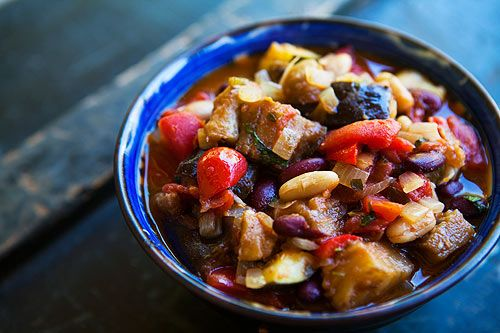 Spicy Vegetarian Chili | Recipe