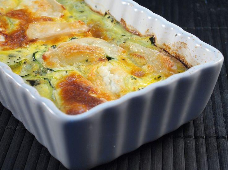 gratin courgette chevre | Cuisine | Pinterest
