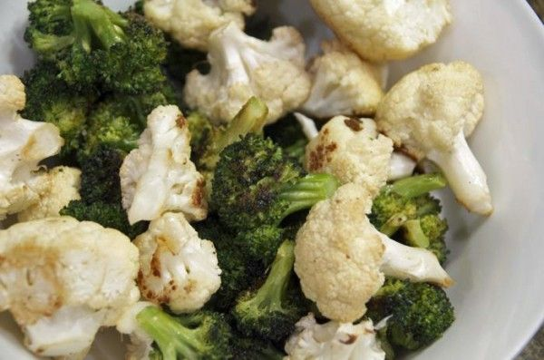 roasted broccoli and cauliflower | Recipes - Fruits and Veggies | Pin ...