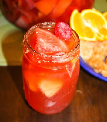 Ruby Red Grapefruit Sangria | Drink it up | Pinterest