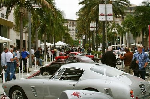 rodeo drive father's day car show