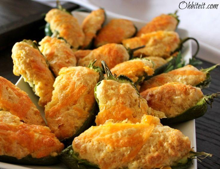 Jalapeno Cornbread Poppers | Snacky Things | Pinterest