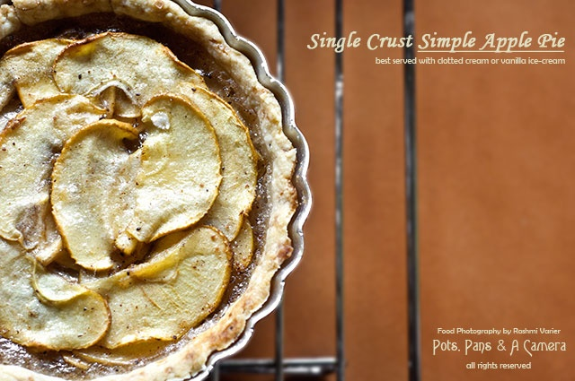 Single Crust Apple Pie | Miscellaneous Photography | Pinterest
