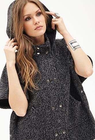 Wool Blend Cape | FOREVER21 - 2000119264