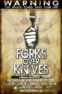 forks over knives. educational documentary about the benefits of a plant based diet.