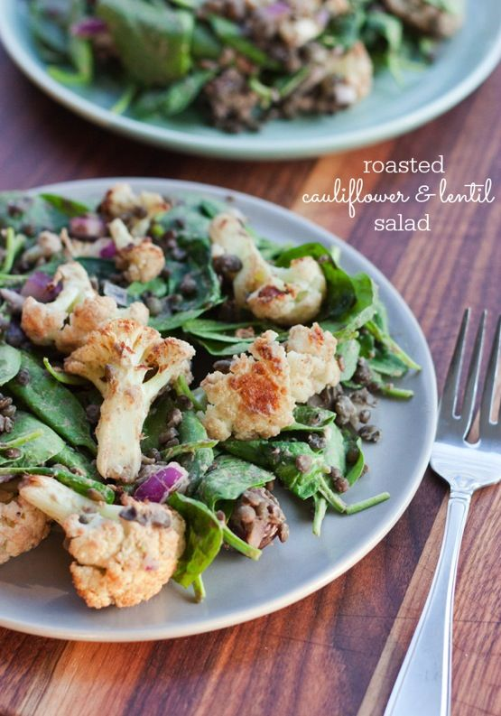 The Best Roasted Cauliflower Salad - Eating Bird Food