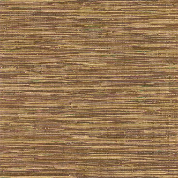 Brewster Beige Faux Grasscloth Wallpaper   Overstock.com Shopping ...