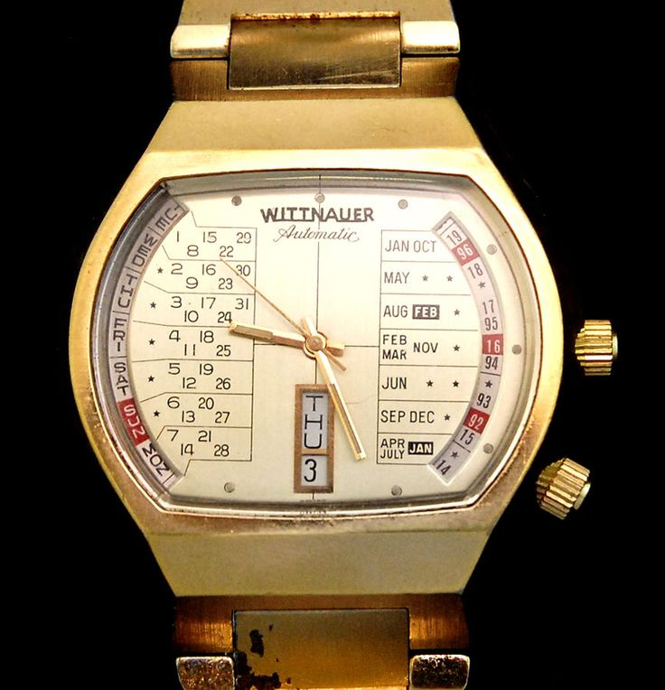 how to open a wittnauer watch