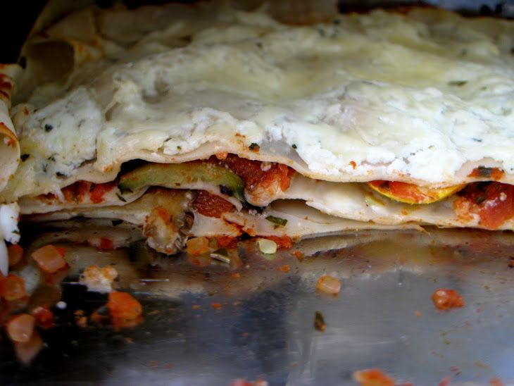 Roasted Vegetable Lasagna | Recipes healthy and.. not | Pinterest