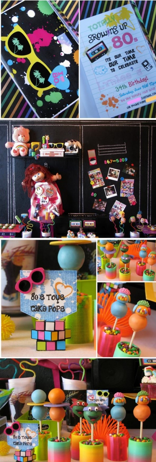 90s themed party decorations for 90s decoration ideas