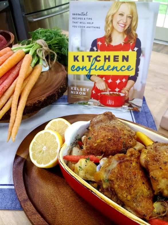 @Kelsey Myers Nixon makes #lemon-scented #chicken thighs, #potatoes ...