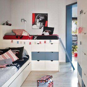 Mi casa decoracion habitacion juvenil nino for Decoracion habitacion juvenil nino