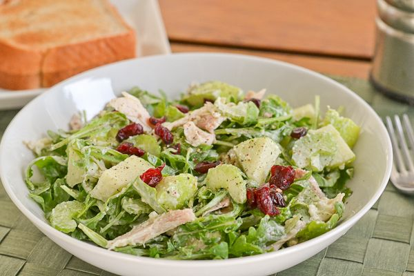 Chicken Salad With Basil And Parmesan Recipes — Dishmaps