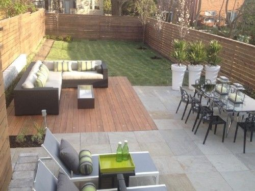 Simple backyard deck designs style for life and home for Simple back deck designs