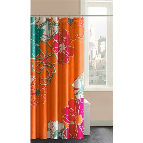 Madison Park Valencia Shower Curtain With Hooks