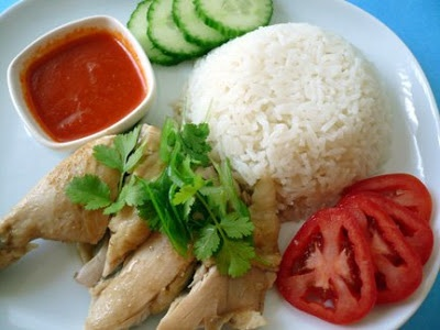Hainanese Chicken Rice   Asian Recipes   Pinterest