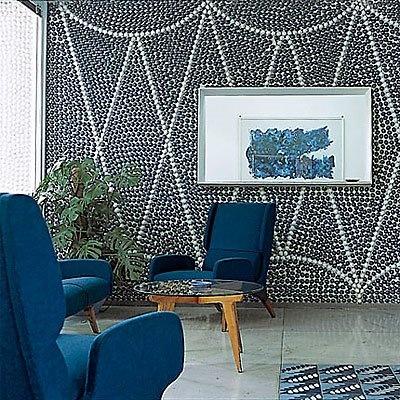 Roseland Greene: blue and white (indigo)