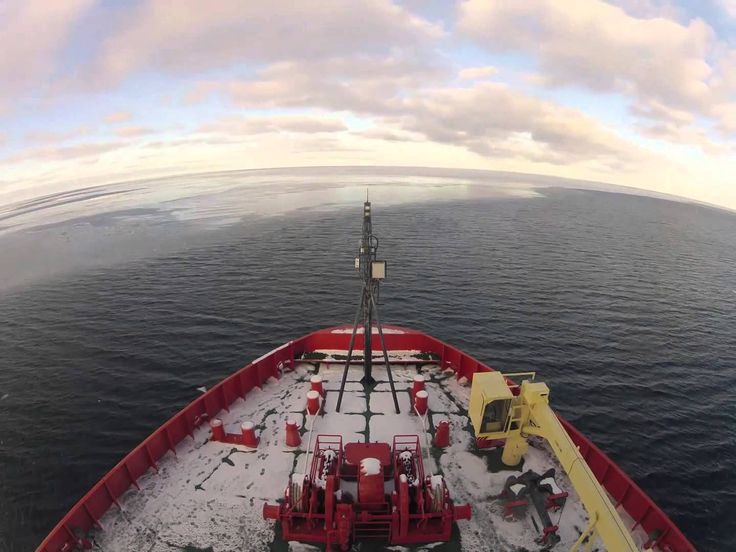 Two months aboard an ice breaker in under five minutes video