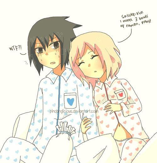 How cute she's pregnant (sasusaku) | (Sasusaku) Sasuke x Sakura | Pin ...