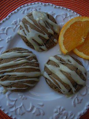 orange ginger cookie   desserts   Pinterest