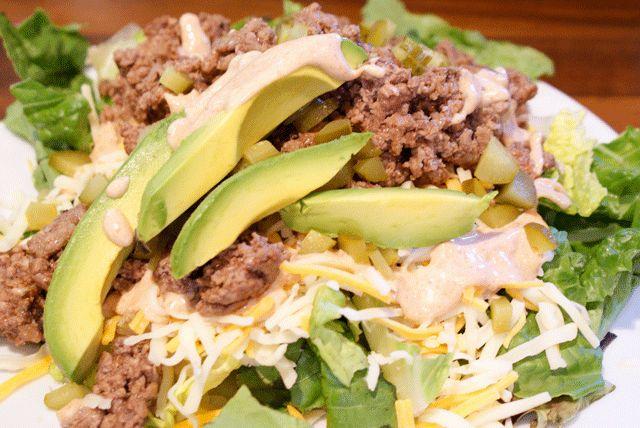 Cheeseburger Salad Recipe   Yummy Meals   Pinterest