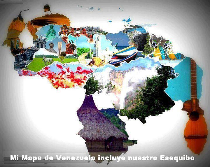 Mapa de Venezuela | Mapa de los Estados de Venezuela, Mapa