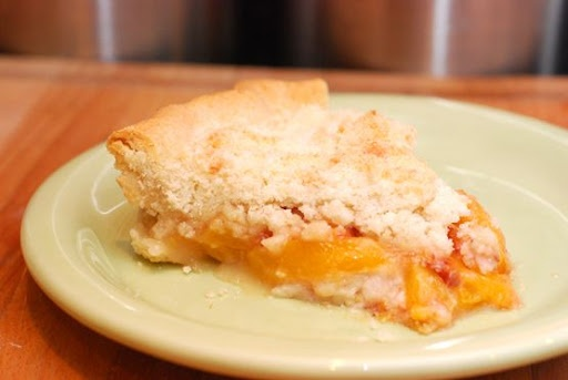 Peach Crumb Pie (I just made this and it was excellent! I didn't use a ...