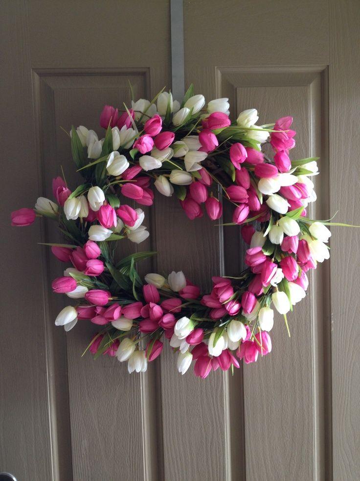 Spring Wreath Ideas Spring Wreath Wreathes For All