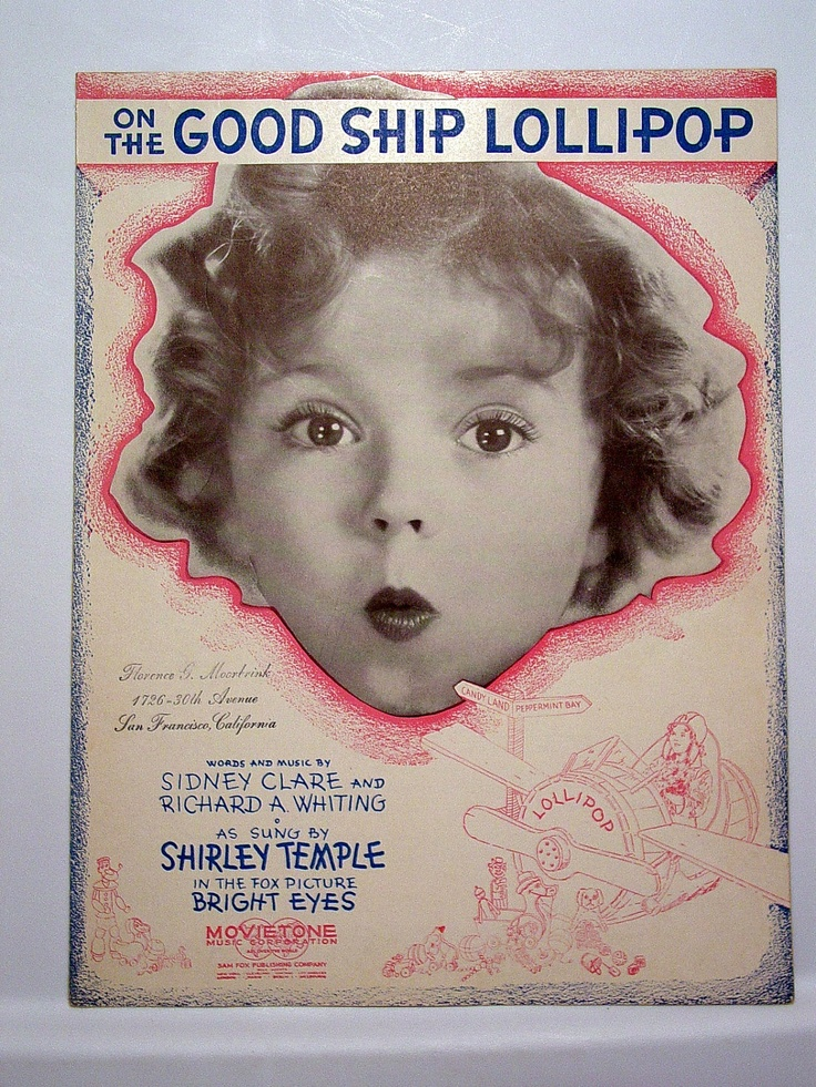 Good Ship Lollipop - Homemade Shirley Temple Lollipops Recipes ...