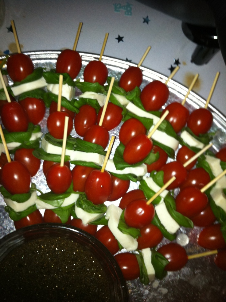 caprese skewers | My projects | Pinterest