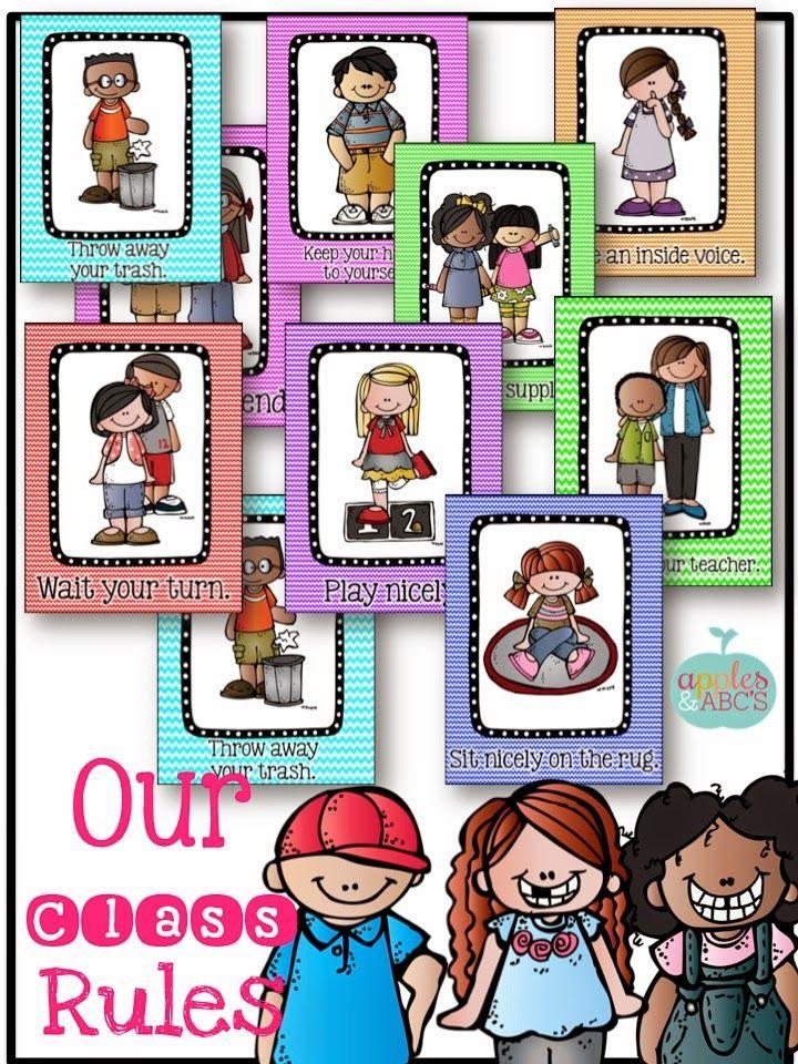 Kindergarten classroom rules | PreK: Beginning of the Year ...